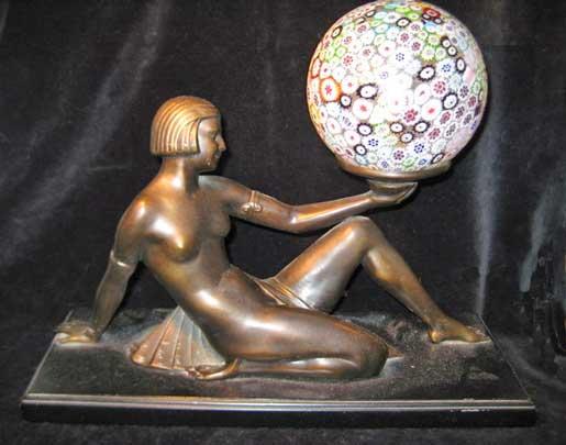 millefiori francaise lamp